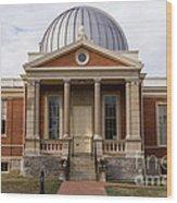 Cincinnati Observatory In Cincinnati Ohio Wood Print