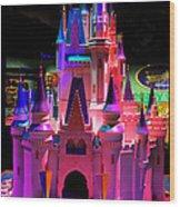 Cinderellas Castle Number One Wood Print