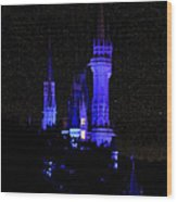 Cinderellas Night Wood Print