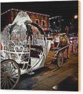 Cinderella's Ride Wood Print
