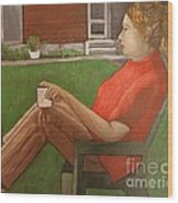 Cindy's Day Wood Print
