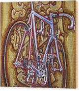 Cinelli Laser Bicycle Wood Print