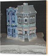 Cinema And Soda Fountain Wood Print