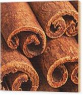 Cinnamon - Cinnamomum Wood Print