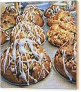 Cinnamon Muffins Wood Print
