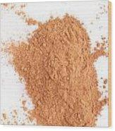 Cinnamon Spice Wood Print