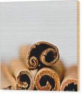 Cinnamons And Clove Wood Print