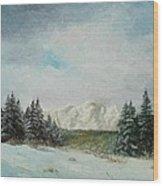Cioplea Wood Print