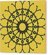 Circle 2 Icon Wood Print