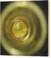 Circle Abstract 01 Wood Print