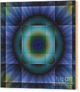 Circle Square Wood Print