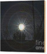 Circles Around The Sun Wood Print