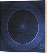 Circles Don't Exist Pi 180 Wood Print