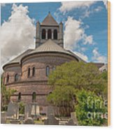 Circular Congregational Church  Wood Print