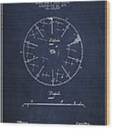 Circular Saw Patent Drawing From 1899 Wood Print