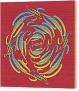 Circularity No. 674 Wood Print