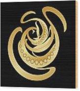 Circularity No. 685 Wood Print