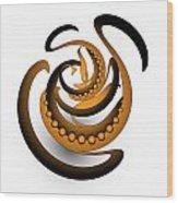 Circularity No. 688 Wood Print
