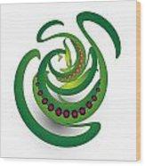 Circularity No. 690 Wood Print