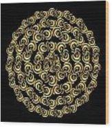 Circularity No. 691 Wood Print