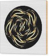 Circularity No. 698 Wood Print