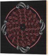 Circularity No. 711 Wood Print