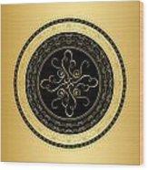 Circularity No. 734 Wood Print