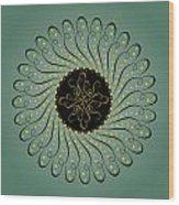 Circularity No. 750 Wood Print