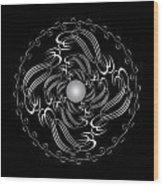 Circularity No. 751 Wood Print