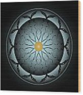 Circularity No. 767 Wood Print