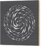 Circularity No. 770 Wood Print