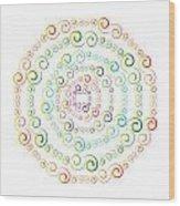 Circularity No. 777 Wood Print