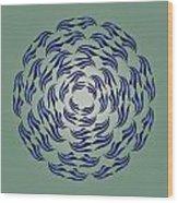Circularity No. 782 Wood Print