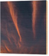 Cirrus Wood Print