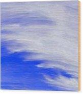 Cirrus Sky Wood Print