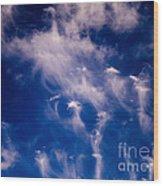 Cirrus Uncinus Clouds 11 Wood Print