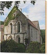 Cistercian Abbey Of Fontenay Wood Print