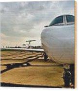 Citation Jet Wood Print