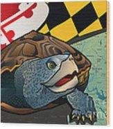 Citizen Terrapin Maryland's Turtle Wood Print