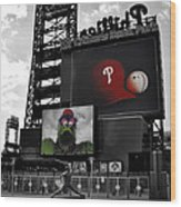 Citizens Bank Park Philadelphia Wood Print by Bill Cannon