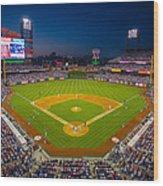 Citizens Bank Park Philadelphia Phillies Wood Print