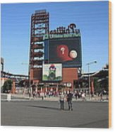 Citizens Bank Park - Philadelphia Phillies Wood Print