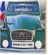 Citroen 2 Cv - France Wood Print