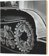 Citroen Half Track - Automobile  Wood Print
