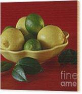 Citrus Passion Wood Print