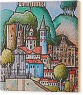 Citta Di Castello Wood Print
