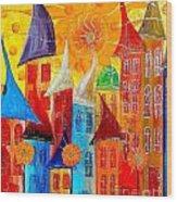 City 531-11-13 Marucii Wood Print