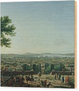 City And Port Of Toulon, 1756 Oil On Canvas Wood Print