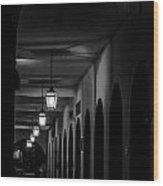 City Arches Wood Print