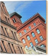 City Architecture Kcmo Wood Print